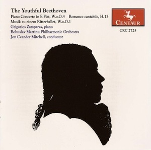 Youthful Beethoven front CD